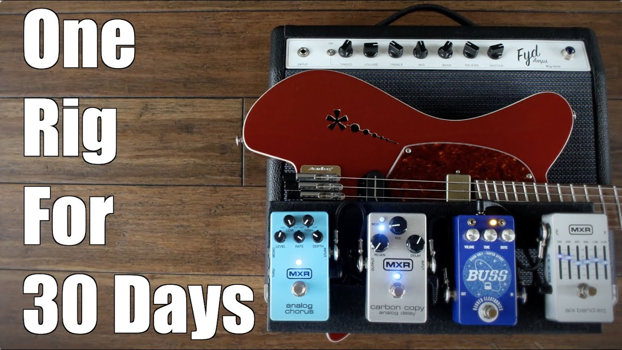 I Played One Rig for 30 Days