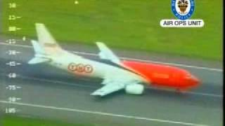 TNT 737 Crash Landing at Birmingham UK