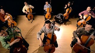 The Cello Song - (Bach is back with 7 more cellos) - The Piano Guys thumbnail