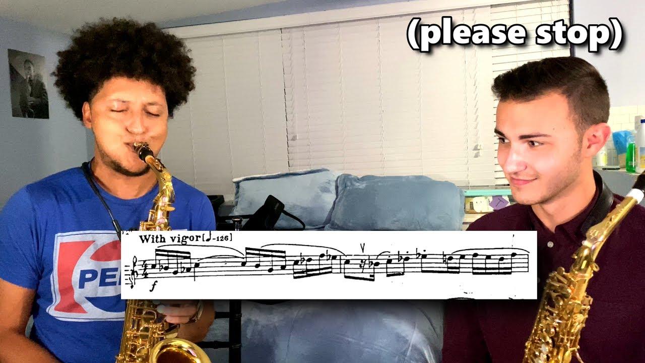 Jazz Saxophone Snob Attempts Classical Saxophone