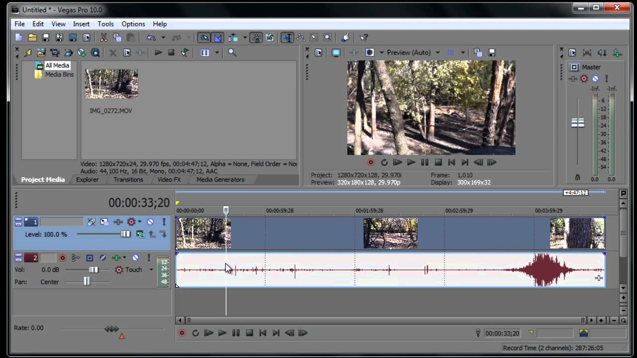 Tutorial Completo Sony Vegas Pro 10 Editor De Video Parte 1 Youtube