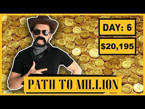 Work From Home – Path to $1,000,000 [Day 6] – Trading Options