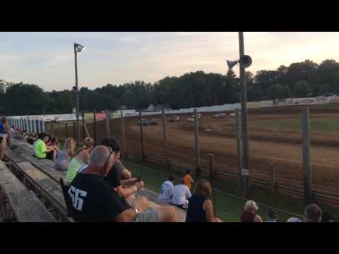 7-23-16 Bomber Heat Race 2 at Lincoln Park Speedway