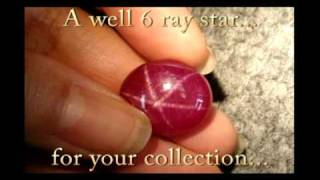 Star Ruby - 22.28cts