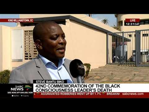 Steve Bantu Biko  | 42nd commemoration of the Black Consciousness leader's death