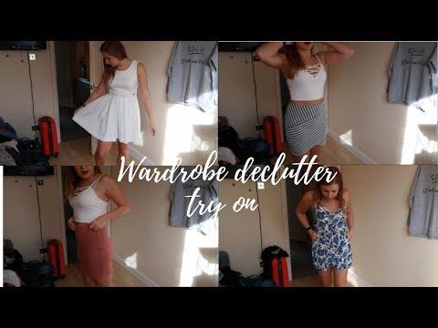 WARDROBE DECLUTTER TRY ON  |  VictoriaLaurenxox