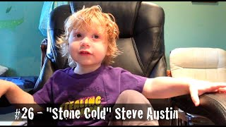 Two-Year-Old Names 30 WWE Legends of Wrestlemania