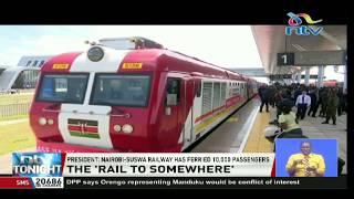 President Uhuru says Nairobi-Suswa SGR ferried 10,000 passengers in 2 months