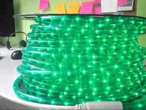Venta de manguera luminosa led con controlador youtube - Manguera luces navidad ...