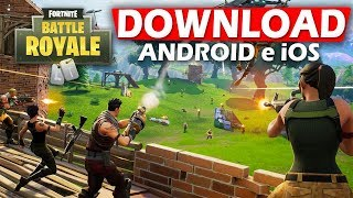 OFFICIAL FORTNITE LEFT FOR MOBILE!! HOW TO DOWNLOAD AND PLAY?!