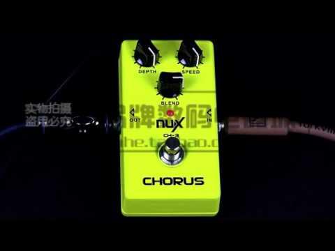 NUX CH-3 Chorus Electric Guitar Effect --- Bates Music Shop