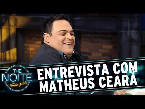 The Noite (17/08/15) - Entrevista Com Matheus Ceará