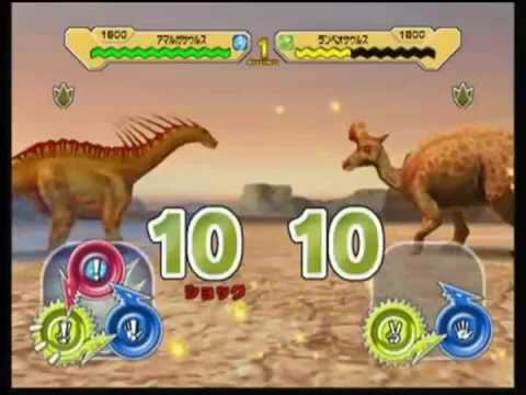 Dinosaur king arcade game combat with water dinosaurs youtube - Dinausaure king ...