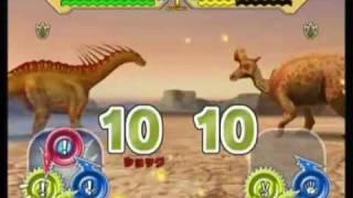 Game | Dinosaur King Arcade Game Combat With Water Dinosaurs! | Dinosaur King Arcade Game Combat With Water Dinosaurs!
