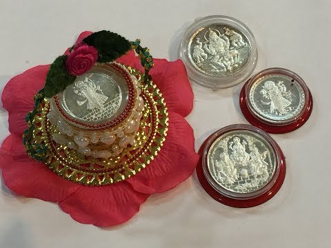 Silver coin gift packing ll 2 ll