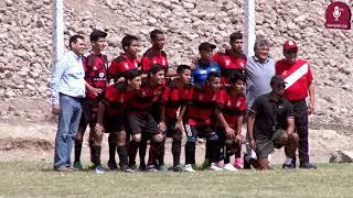 Tema:Inauguración campeonato de fútbol interáreas