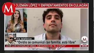 Abogado confirma que hijo de 'El Chapo' fue liberado