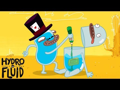 Cheeky Tricks   HYDRO And FLUID   Funny Cartoons For Children