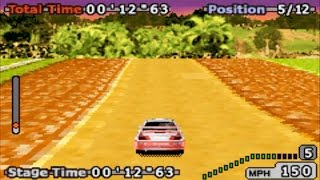 GT Advance 2: Rally Racing (Gameboy Advance Gameplay)