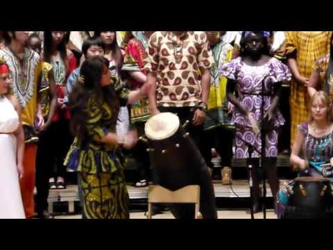 African Music and Dance Ensemble: performance at UC Berkeley, April 13, 2013