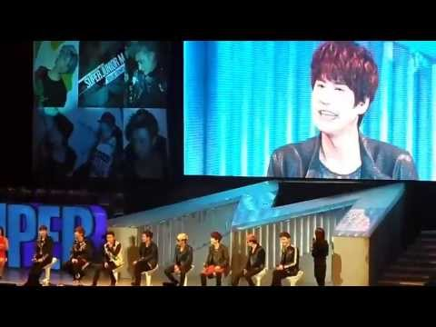 [Eng CC] Talk 1 (Kyuhyun), SJM Beijing Fan Party 130414  [FanCam]