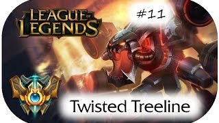Chogath Jungle Viable - 3vs3 New Map Twisted Treeline Test Challenger - German - [Patch 5.11] #11