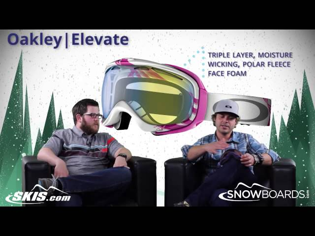 2015 Oakley Elevate Womens Goggle Overview by SkisDOTcom