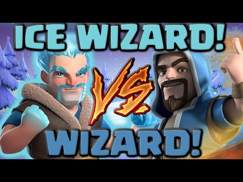 Thumbnail: Ice Wizard Vs Wizard - Clash of Clans Battle! New CoC Troop Attacks