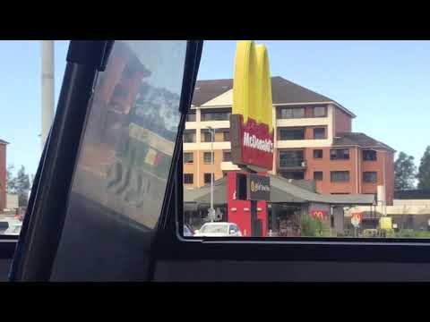 BUS VIDEO: The Wollongong Shuttle Bus
