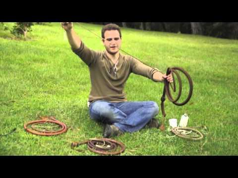 Clases de látigo AFIJ: Introducción - tipos de látigo Indiana Jones
