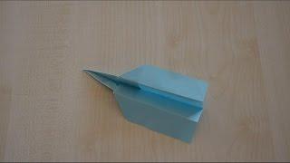 Реактивный Самолет из Бумаги - Урок Оригами