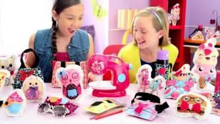 Швейные машины. Купить детскую швейную машинку Sew Cool(Купить детскую швейную машинку: http://goo.gl/941INi Sew Cool - это уникальная швейная машинка, которая не требует ниток..., 2015-10-15T13:33:34.000Z)