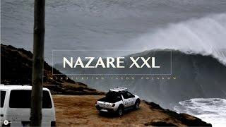 Il primo windsurfista al mondo cavalca i mostri di Nazarè