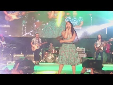 Via Vallen live Alun Alun wonosari 23 Oktober 2017 (Ojo Nguber Welase) Bareng Koneg