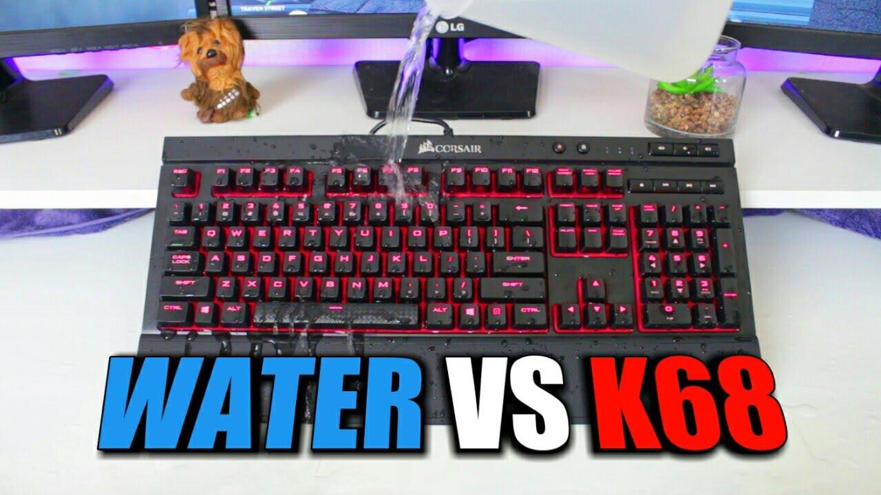 Water Resistant Gaming Keyboard - Corsair K68 Review