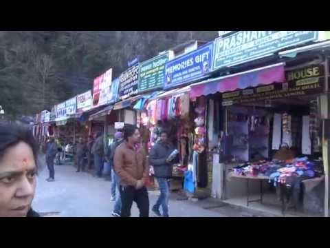 Aruna & Hari Sharma Shopping on Street in Nainital, Uttarakhand, India Jan 20, 2015