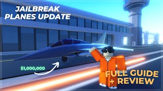 [FULL REVIEW] JAILBREAK PLANES UPDATE! NEW FIGHTER JET AND STUNT PLANES! + Codes | Roblox Jailbreak