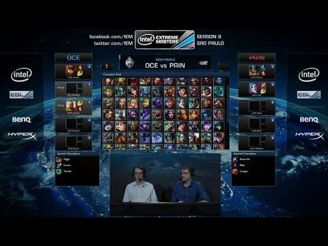 oceloteWorld vs paIN Gaming Game 1 | Semi Finals IEM Sao Paulo LOL 2014 | OCE vs PNG G1