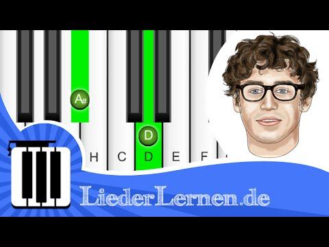 Tim Bendzko - Nur Noch Kurz Die Welt Retten - Klavier lernen - Musiknoten - Akkorde