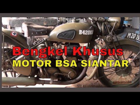 Bengkel Khusus Motor Tua BSA di Siantar