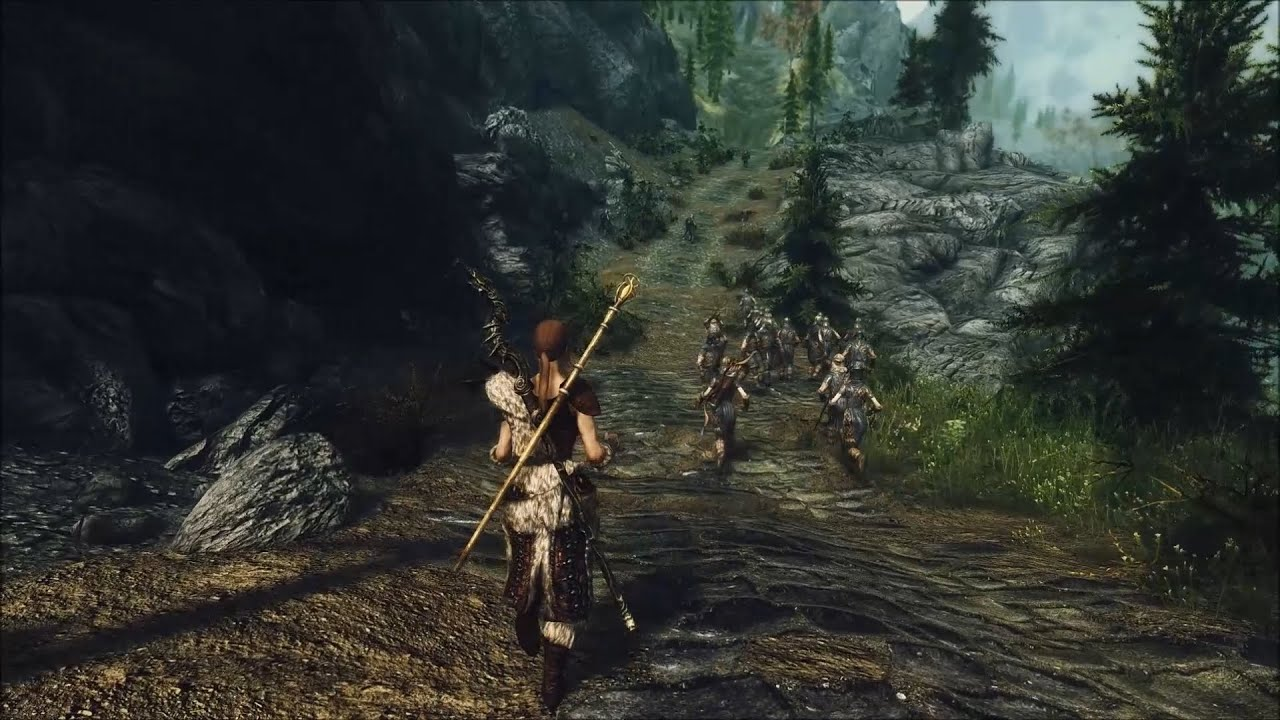 Skyrim Perfectly Modded - So what are you guys doing?Wait    WTF?
