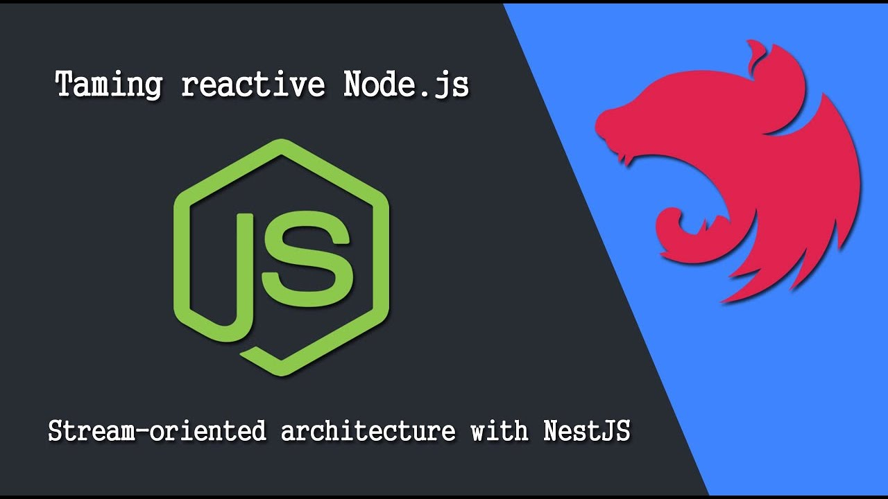 Taming reactive Node.js: Stream-oriented architecture with NestJS