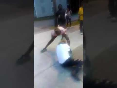 Fight in Newport News ,Va