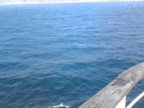 Maroc- espagne bateaux en mer