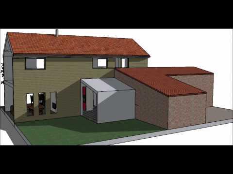 R novation extension maison familiale en bretagne for Les architecteurs rennes