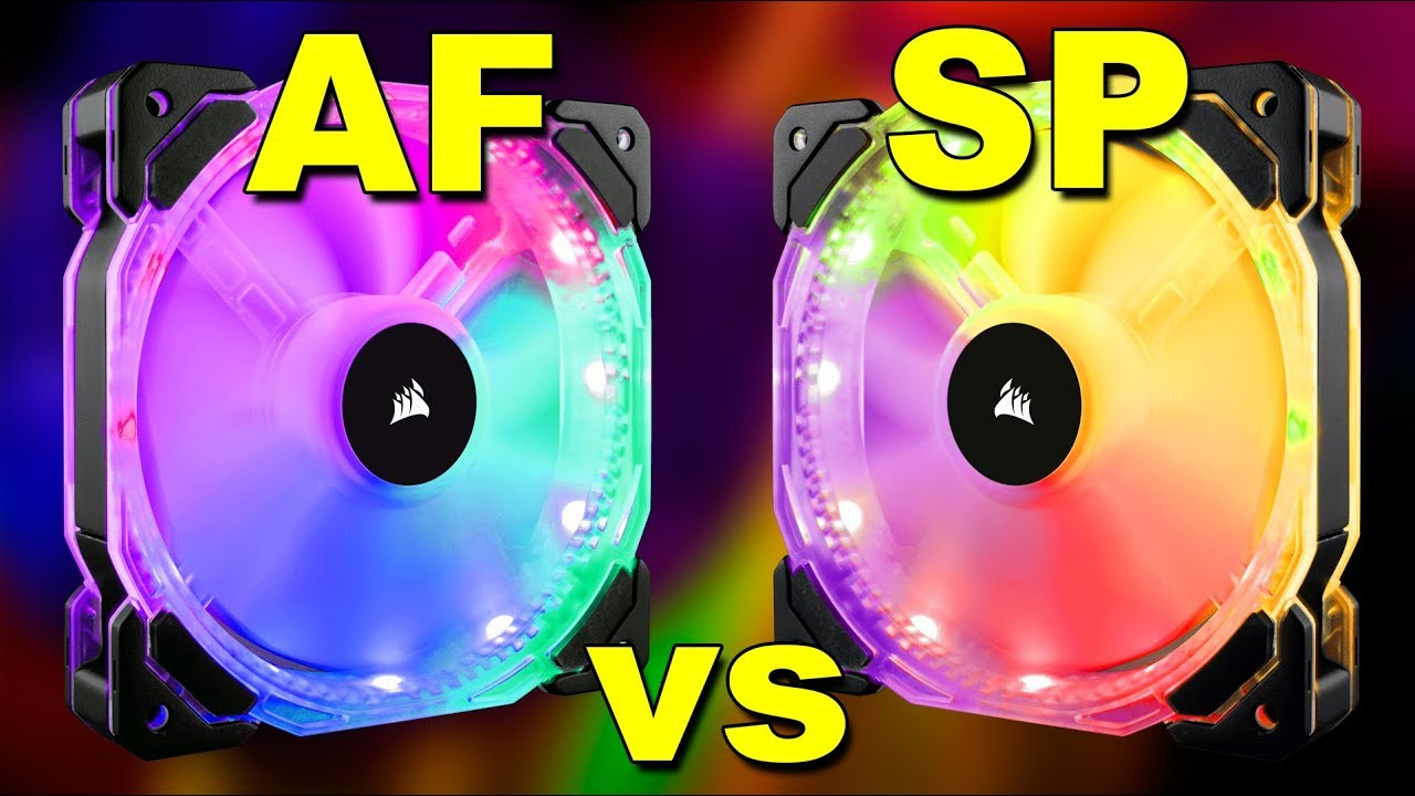 Corsair AF vs SP Fan | Airflow Fan Vs Static Pressure Fan (Hindi) | Kshitij  Kumar