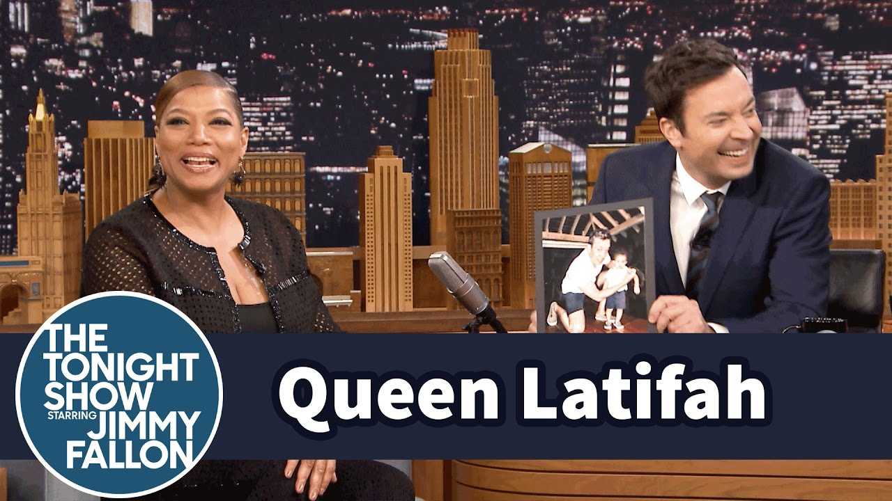 Queen Latifah Fakes Cheap queen latifah and jimmy serenaded resort guests in jamaica - youtube