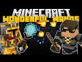 Minecraft WIZARD WANDS AND ROBES MOD w/ SKYDOESMINECRAFT!! (NEW WEAPONS)