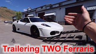 Transporting The Ferrari To CA And Bringing One BACK!