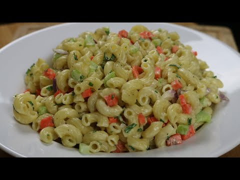 How to make Macaroni Salad - Side Dishes - Easy Recipe
